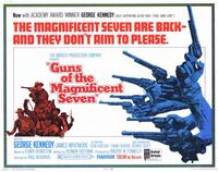 Guns of the Magnificent Seven - 11 x 14 Movie Poster - Style A