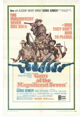 Guns of the Magnificent Seven - 11 x 17 Movie Poster - Style A