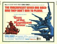 Guns of the Magnificent Seven - 22 x 28 Movie Poster - Half Sheet Style A