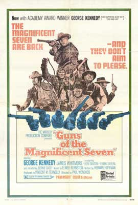 Guns of the Magnificent Seven - 27 x 40 Movie Poster - Style A