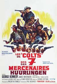 Guns of the Magnificent Seven - 11 x 17 Movie Poster - Belgian Style A