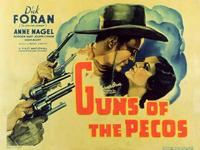Guns of the Pecos - 11 x 14 Movie Poster - Style A