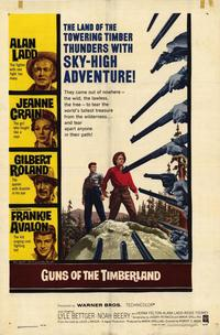 Guns of the Timberland - 27 x 40 Movie Poster - Style A