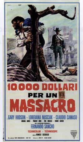 Guns of Violence - 11 x 17 Movie Poster - Italian Style B