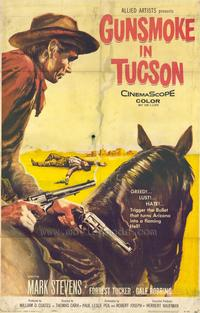 Gunsmoke in Tucson - 43 x 62 Movie Poster - Bus Shelter Style A
