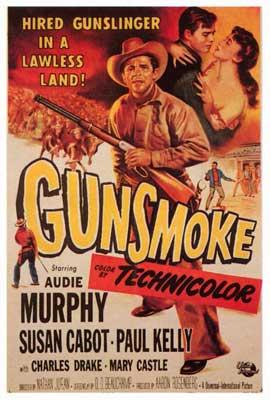 Gunsmoke - 27 x 40 Movie Poster - Style A