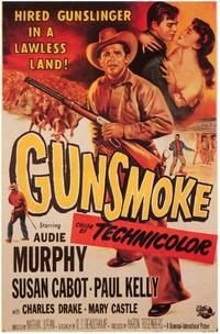 Gunsmoke - 43 x 62 Movie Poster - Bus Shelter Style A