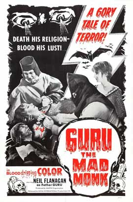 Guru, the Mad Monk - 11 x 17 Movie Poster - Style A
