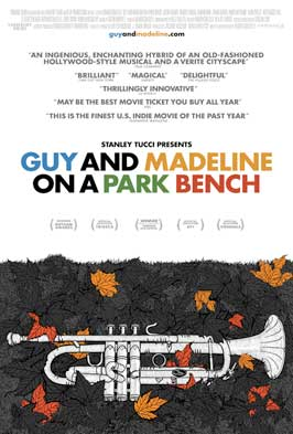 Guy and Madeline on a Park Bench - 43 x 62 Movie Poster - Bus Shelter Style A
