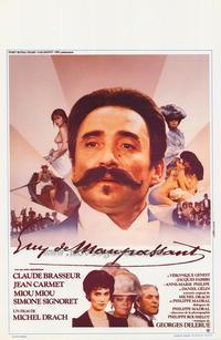 Guy de Maupassant - 27 x 40 Movie Poster - Belgian Style A