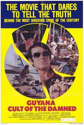 Guyana:  Cult of the Damned - 11 x 17 Movie Poster - Style A