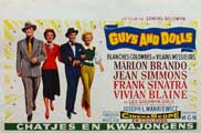 Guys and Dolls - 11 x 17 Movie Poster - Belgian Style A