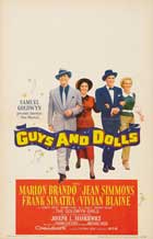 Guys and Dolls - 27 x 40 Movie Poster - Style E