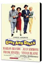 Guys and Dolls - 11 x 17 Movie Poster - Style A - Museum Wrapped Canvas