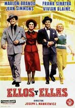 Guys and Dolls - 11 x 17 Movie Poster - Spanish Style B