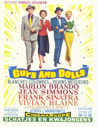 Guys and Dolls - 11 x 17 Poster - Foreign - Style A