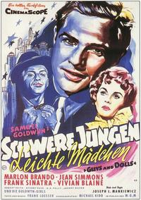 Guys and Dolls - 11 x 17 Movie Poster - German Style A