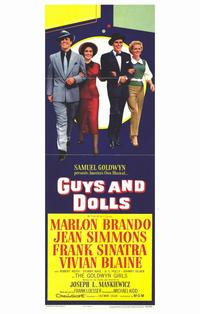 Guys and Dolls - 11 x 17 Movie Poster - Style B