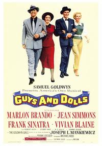 Guys and Dolls - 43 x 62 Movie Poster - Bus Shelter Style A