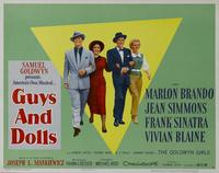 Guys and Dolls - 11 x 14 Movie Poster - Style B