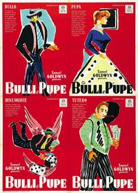 Guys and Dolls - 11 x 17 Movie Poster - Italian Style C