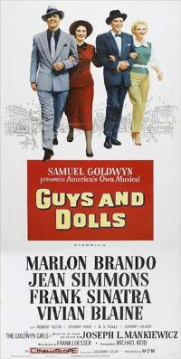 Guys and Dolls - 11 x 17 Movie Poster - Style C