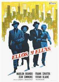 Guys and Dolls - 11 x 17 Movie Poster - Spanish Style A