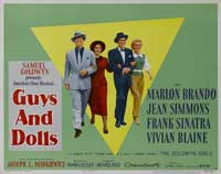 Guys and Dolls - 22 x 28 Movie Poster - Half Sheet Style A