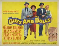 Guys and Dolls - 22 x 28 Movie Poster - Half Sheet Style B