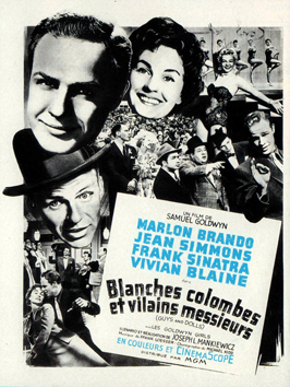 Guys and Dolls - 11 x 17 Movie Poster - French Style A