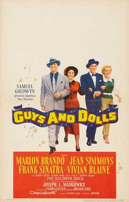 Guys and Dolls - 11 x 17 Movie Poster - Style I
