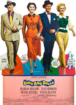 Guys and Dolls - 11 x 17 Movie Poster - Style D