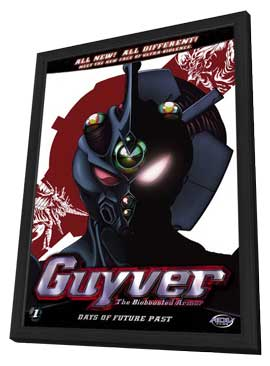 Guyver: The Bioboosted Armor - 11 x 17 Movie Poster - Style A - in Deluxe Wood Frame