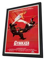 Gymkata - 27 x 40 Movie Poster - Style A - in Deluxe Wood Frame