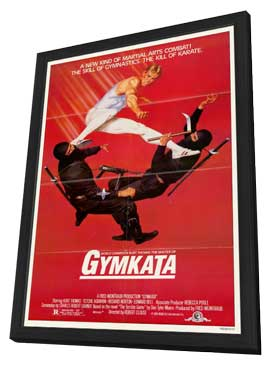 Gymkata - 11 x 17 Movie Poster - Style A - in Deluxe Wood Frame