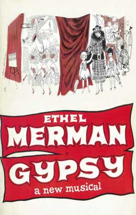 Gypsy (Broadway) - 14 x 22 Poster - Style A