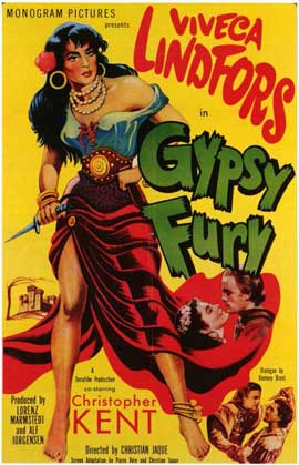 Gypsy Fury - 11 x 17 Movie Poster - Style A