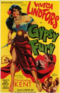 Gypsy Fury - 27 x 40 Movie Poster - Style A