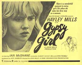 Gypsy Girl - 11 x 14 Movie Poster - Style F