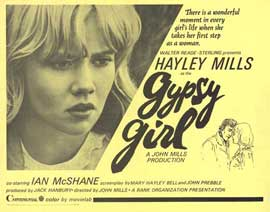 Gypsy Girl - 22 x 28 Movie Poster - Half Sheet Style A