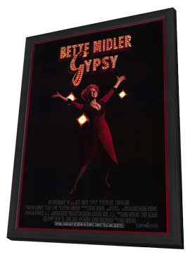 Gypsy - 27 x 40 Movie Poster - Style A - in Deluxe Wood Frame