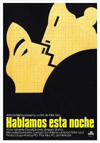 Hablamos esta noche - 11 x 17 Movie Poster - Spanish Style A