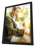 Hachiko: A Dog's Story - 11 x 17 Movie Poster - Style A - in Deluxe Wood Frame