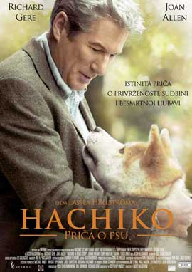 Hachiko: A Dog's Story - 27 x 40 Movie Poster - Croatian Style A