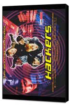 Hackers - 27 x 40 Movie Poster - Style B - Museum Wrapped Canvas