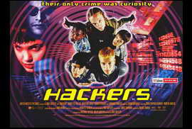 Hackers - 27 x 40 Movie Poster - Style B