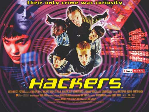 1995 Movie Posters: Hackers Movie Posters From Movie Poster Shop