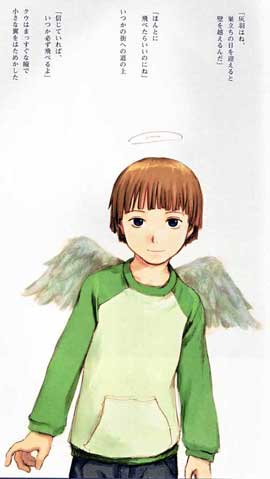 Haibane Renmei (TV) - 11 x 17 TV Poster - Japanese Style C