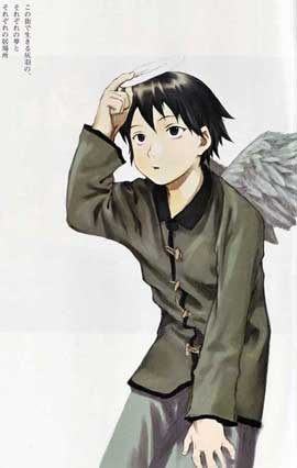 Haibane Renmei (TV) - 11 x 17 TV Poster - Japanese Style D