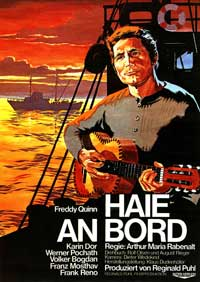Good Night, and Good Luck., Haie an Bord - 27 x 40 Movie Poster - German Style A
